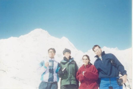 Annapurna B.C trek with Canada Group 2004